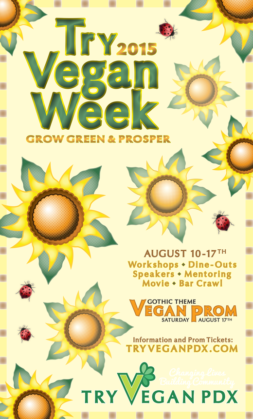 Vegan Week Poster