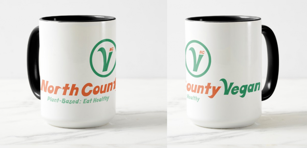 North County Vegan Mug