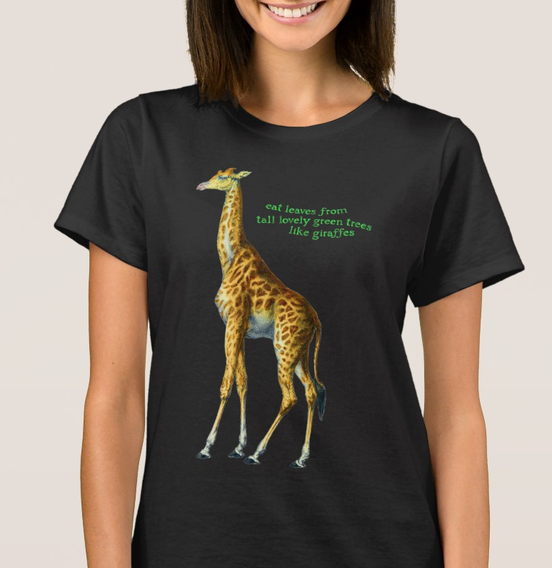 Giraffe Tee Shirt